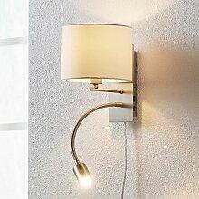 LED Applique Murale Tissu 'Florens' en