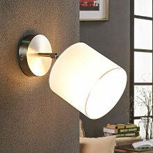 LED Applique Murale Tissu 'Mairi' en