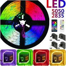 LED bande lumières Bluetooth RGB 5050 SMD 2835