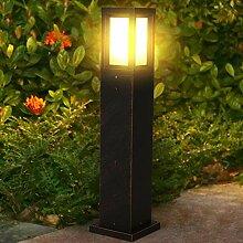 LED Borne Lumineuse Exterieur E27,LED Eclairage