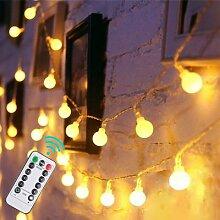 LED Boule Guirlande Lumineuse 10M 6M 3M 2M