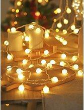 LED Boule Guirlande Lumineuse De Noël Vacances