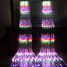 LED cascade de neige rideau de glace guirlande