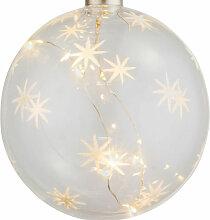 LED Déco Suspendus Pendule Lampe Salon Noël XMAS