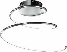 LED design plafonnier luminaire lampe spirale