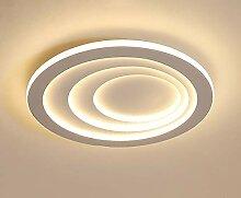 LED Dimmable Plafonnier, 6CM Très Mince Moderne