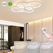 LED Dimmable Plafonnier Anneau Moderne Cercle