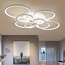 LED Dimmable Plafonnier Moderne Anneau Cercle