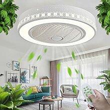 LED Dimmable Ventilateur De Plafond Ventilateur