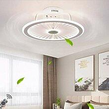 LED Fan Plafonnier Moderne Nordique Dimmable