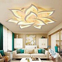 LED Fleur Creative Plafonnier Moderne Chambre