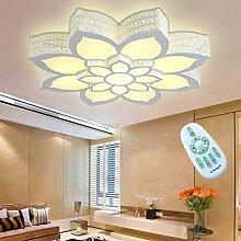 LED Fleur Plafond Moderne Plafonnier Romantique