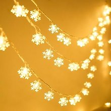 LED Flocon De Neige Guirlande Lumineuse Ampoule