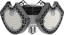 Led Garage Lumieres 50W Deformable Led Plafonniers