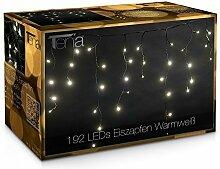 LED-Gigant Rideau lumineux stalactite à 192 LED