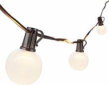 LED Guirlande Guinguette 7.62M Ampoule LED Blanche