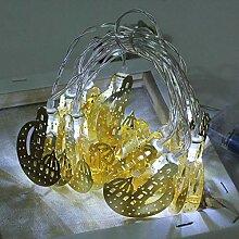 LED Guirlande Lumineuse Lune Château Lampe 10