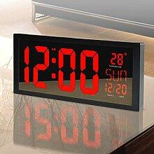 LED Horloge Numerique Horloge Digitale Mural avec