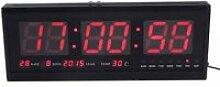 LED Horloge numérique multifonction avec