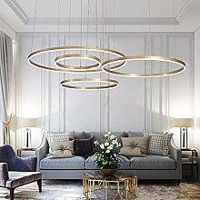 LED Lampe À Suspension Réglable En Hauteur Salon