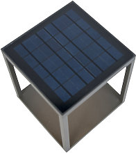 LED Lampe d'extérieur avec solaire,