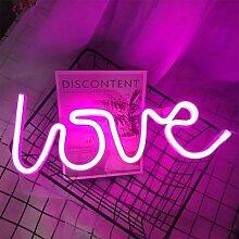 LED lampe en néon en forme de signe