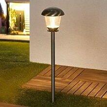 LED Lampe Solaire 'Nela' (Moderne) en Gris