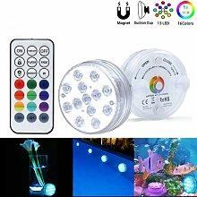 LED Lumiere Piscine Lumière LED Submersible,
