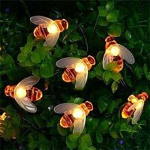 LED Lumières Abeille Jardin Extérieur