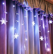 LED lumineuse de neige, LED Flocon de neige Noël,