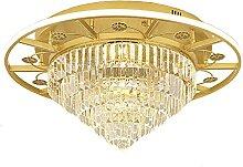 LED Moderne Cristal Plafonniers,E27 Rond