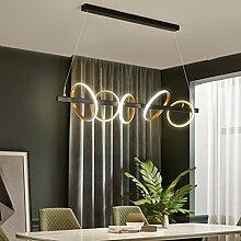 LED Moderne Lustre Simple Lustre Créatif Rond