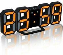 LED moderne numérique Table Bureau Nuit Horloge