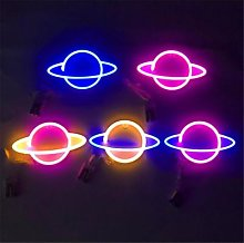 LED Néon Coloré Creative Planet Nuit Lampe Terre