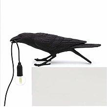 LED Oiseau Lampe Lampe De Table Jouant Design