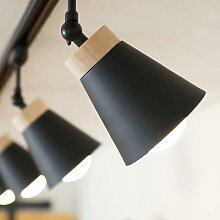 LED Piste Lumière LED plafonniers avec E27 Rail