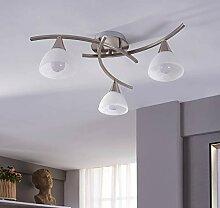LED Plafonnier 'Della' (Moderne) en Gris
