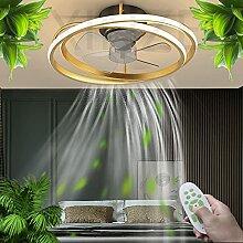 LED Plafonnier Plafonnier Ventilateur Invisible