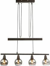 LED plafonnier suspension réglable en hauteur