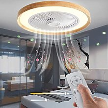 LED Plafonnier Ventilateur Silencieux Lampe De