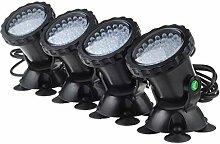 LED Projecteur Aquarium avec Base Ip68 Lampe Spot