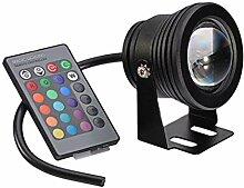LED Projecteur RGB Spot Light LED Aquarium Lampe