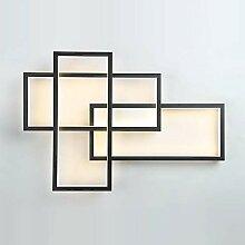LED Rectangle Applique Murale Montage Encastré