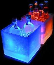 LED Seau à Glace 5L Refroidisseur de Vin Couleurs