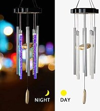 LED Solaire Carillons Éoliens Lumière Couleur