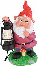 LED SOLAIRE lampe de stand extérieur jardin nain