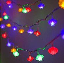 LED solaire lanterne rouge lanterne nouvel an