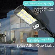 LED solaire mur lumière infrarouge capteur