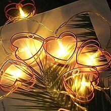 LED Star Fairy Lights Lumières de Noël à piles