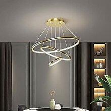 LED Suspensions Luminaire Scandinavie 3-Anneaux